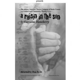 Raisin in the Sun Program