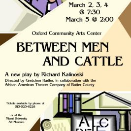 Between Men and Cattle Poster