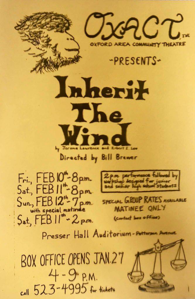 Inherit the Wind Poster