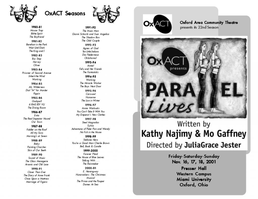 Parallel Lives Program