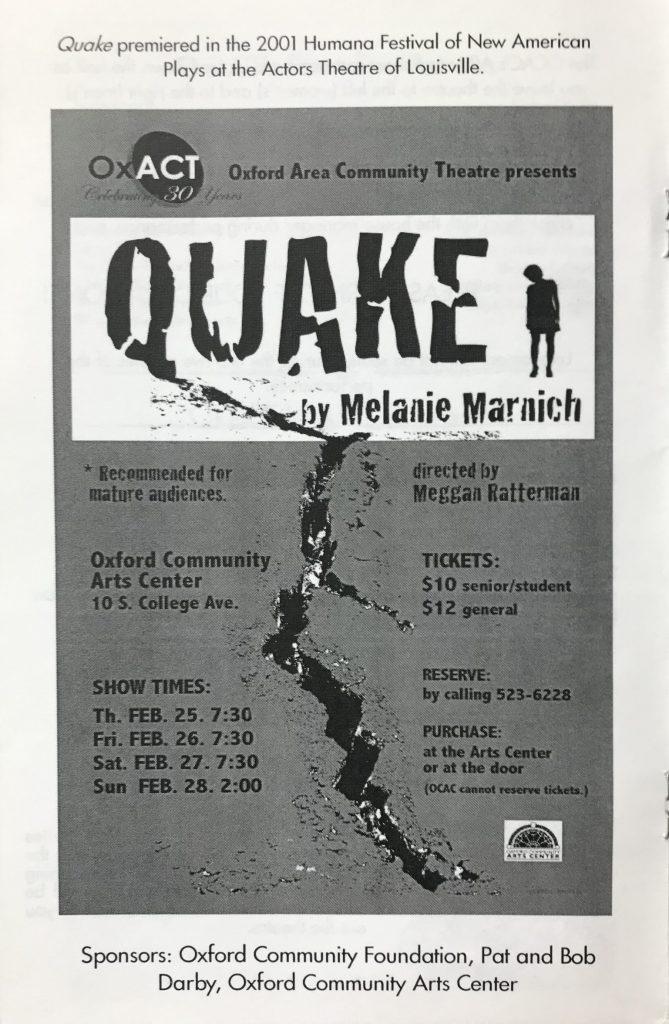 Quake Program