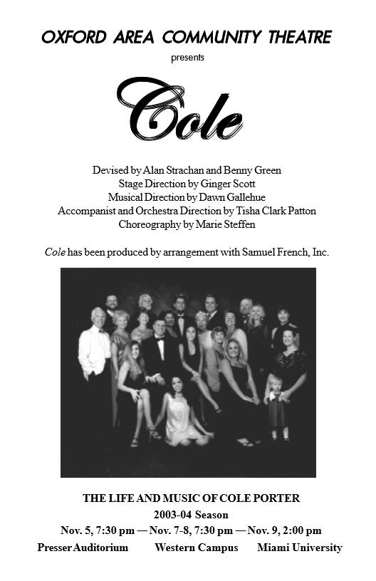 Cole Program