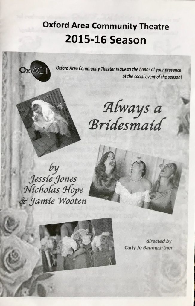 Always a Bridesmaid Program