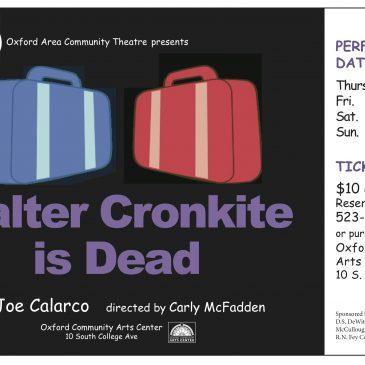 Walter Cronkite is Dead
