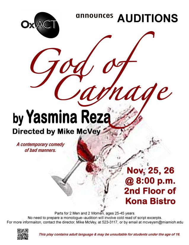 God of Carnage Poster