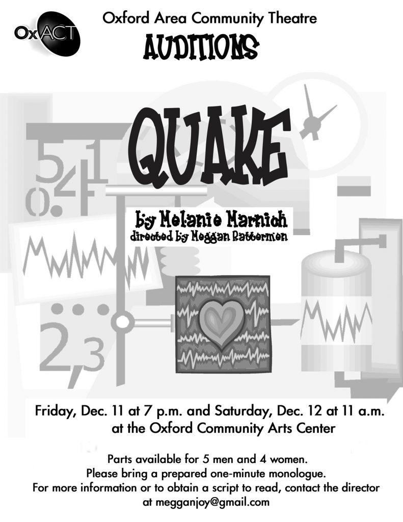 Quake Poster