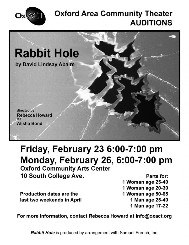 Rabbit Hole Auditions